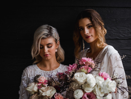 A Cove Wedding Editorial: Blossoming Romance