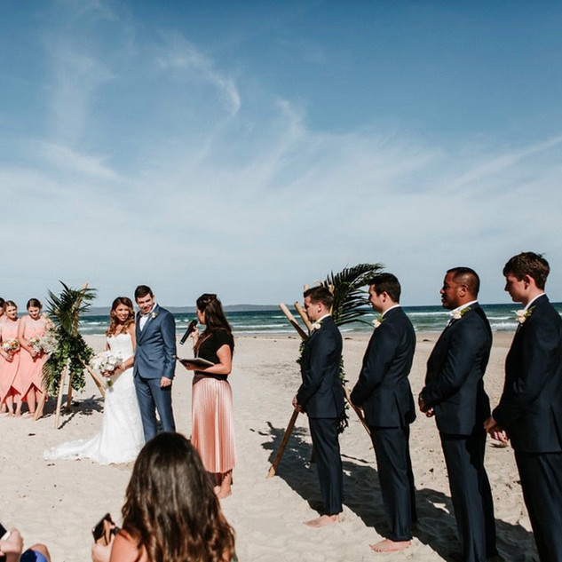 Weddings at The Cove Jervis Bay