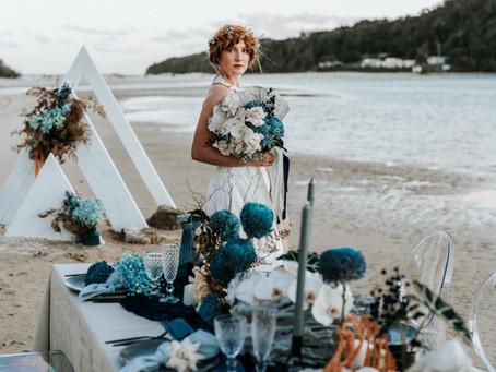 A Cove Wedding Editorial : Lost in Love & the Sea