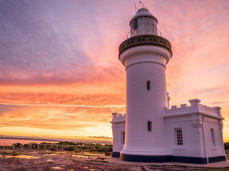 Point Perpendicular Light House & Look Out - Image via Destination NSW
