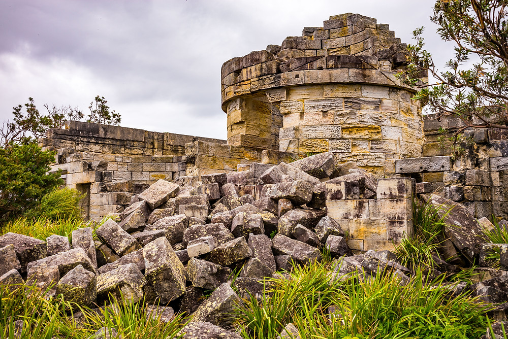 Ruins of Cape St George Light House - photography by Paul Dodd https://paul.angrybluecat.com