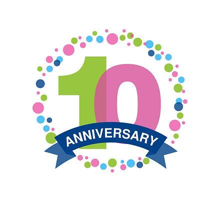 10th-anniversary-colored-logo-design-hap