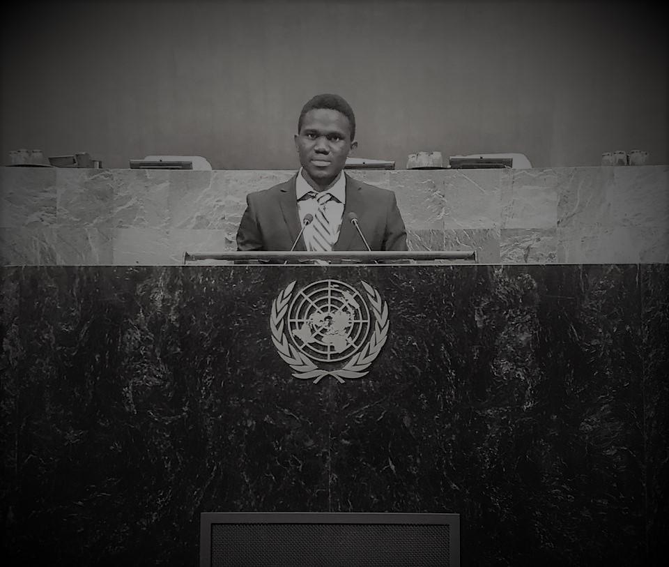 Leonard in UN Member day