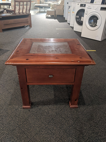 Coffee Table with Drawer - Upcycling Piece