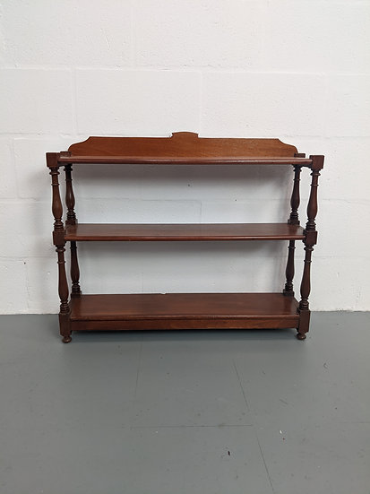 Vintage Stand Alone Shelving Unit
