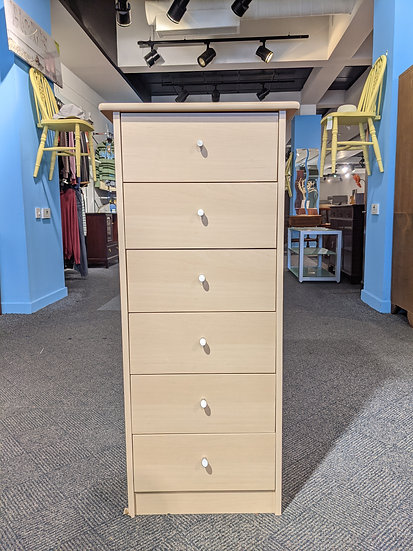 Tall Chest Of 6 Drawers
