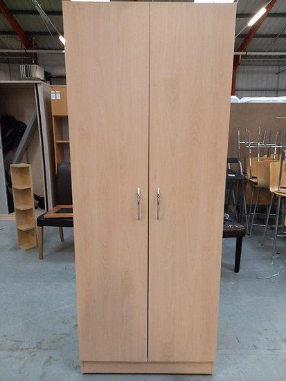 Two Door Wooden Wardrobe