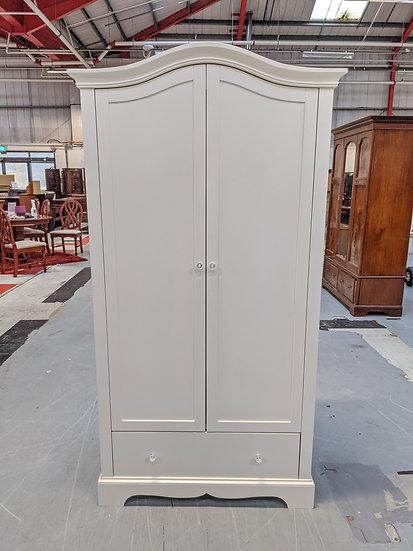 White 2 Door Wardrobe
