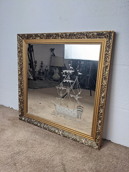 Pilkington Dahlia Ornate Mirror