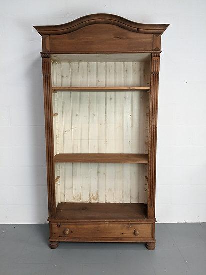 Large Vintage Decorative Wooden Bookshelf(project piece)