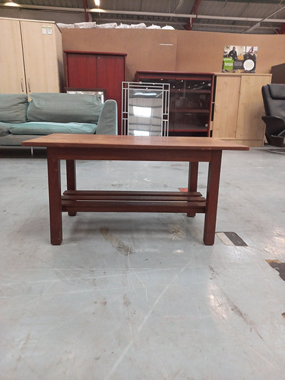 Small Wooden Coffee Table