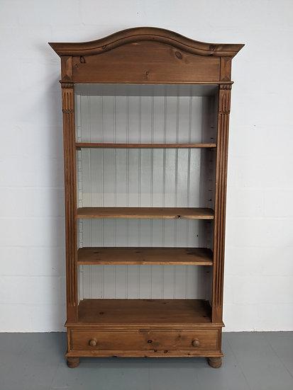 Large Vintage Decorative Wooden Bookshelf