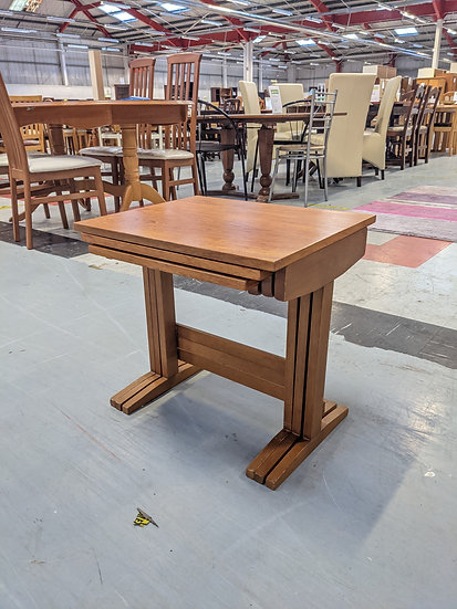 Light Wood Nest Of Tables