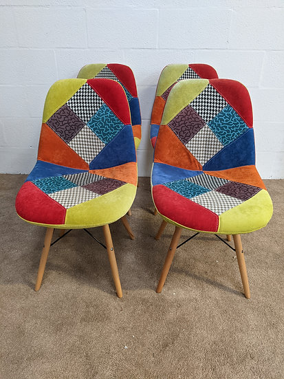 Patchwork Removable Covers Chairs
