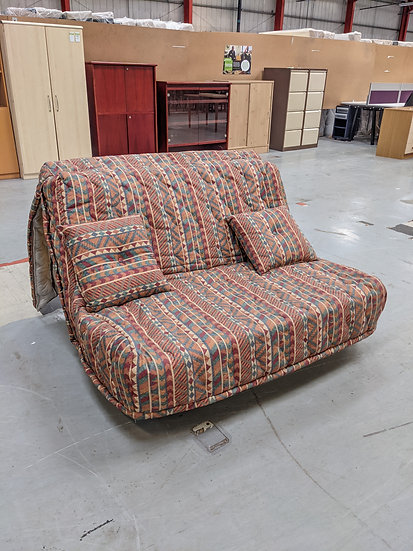 Patterned Fabric Sofa Bed