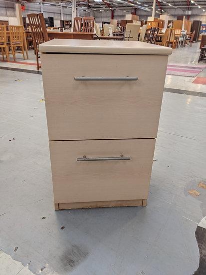 Light Wood Filing Cabinet