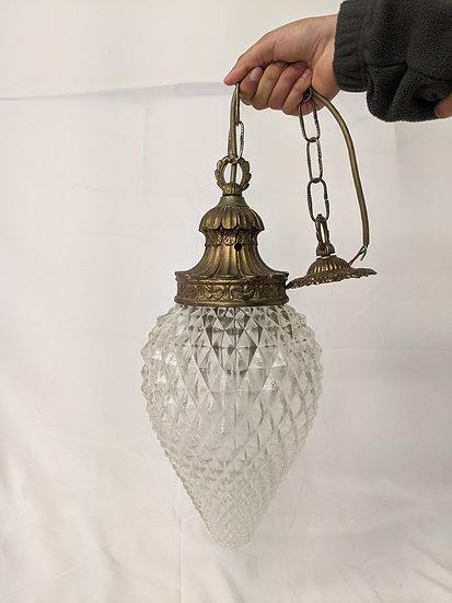 1920-30's Pear Drop Vintage Hanging Lamp