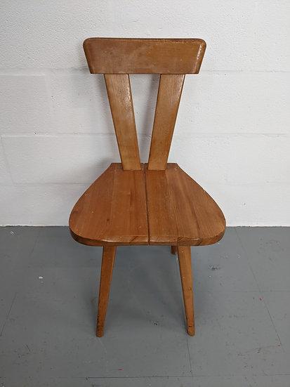 Handmade Wooden Chair
