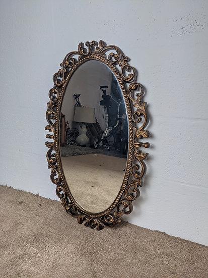 Ornate Wooden Mirror