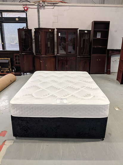 New Astral Double Bed Base and Mattress