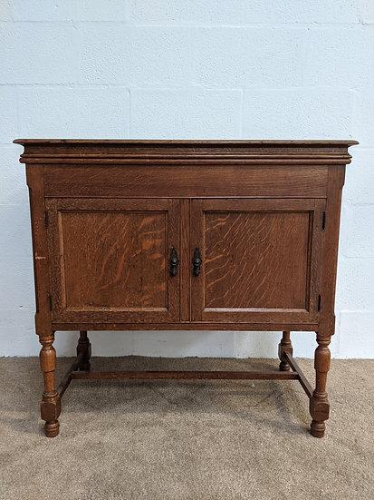 Antique 1970's Wooden Cabinet