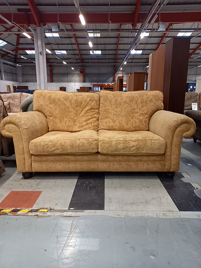 Two Seater Biege Sofa