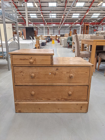 Solid Pine Chest Of Drawers (Upcycle Project )