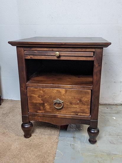 Marks and Spencer Dark Wood Bedside Cabinet