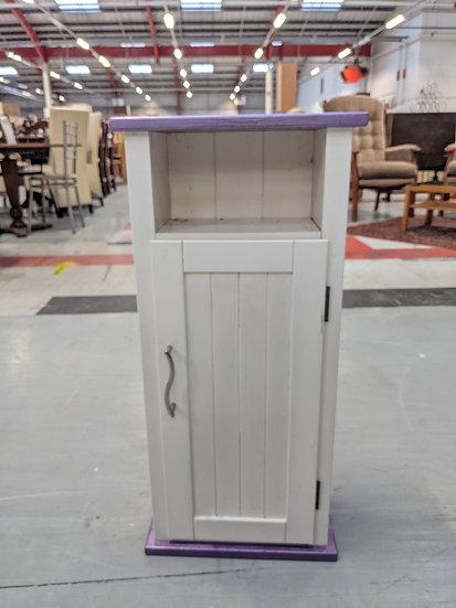 White Wood Bathroom Unit