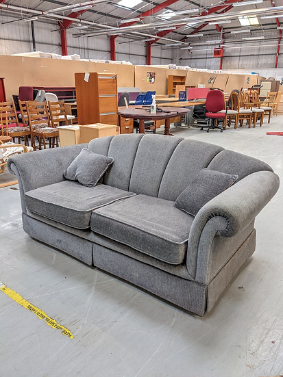 Light Grey 2 Seat Sofa Bed