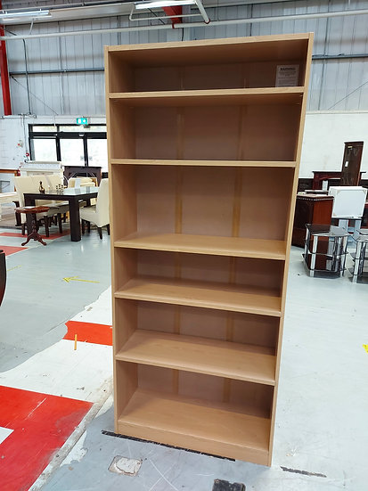 Bookcase MDF With 6 Shelves