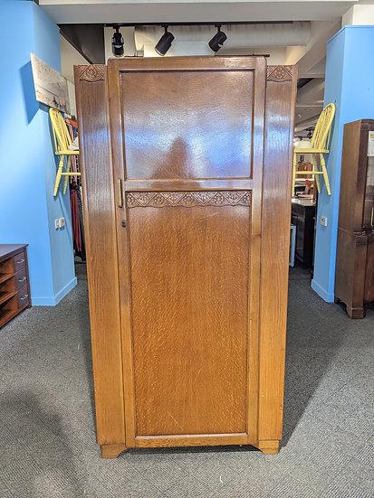 Vintage Single Door Wardrobe With Mirror