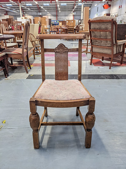 Vintage 1950's Wooden Dining Chair