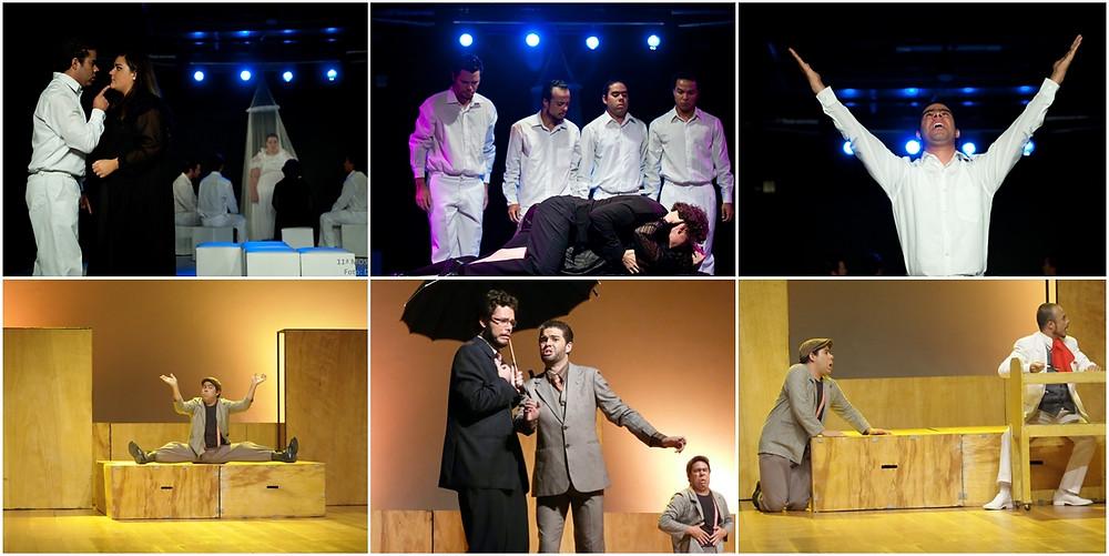 """Espetáculos """"Anjo Negro"""" e """"O Inspetor Geral"""", 2010."""