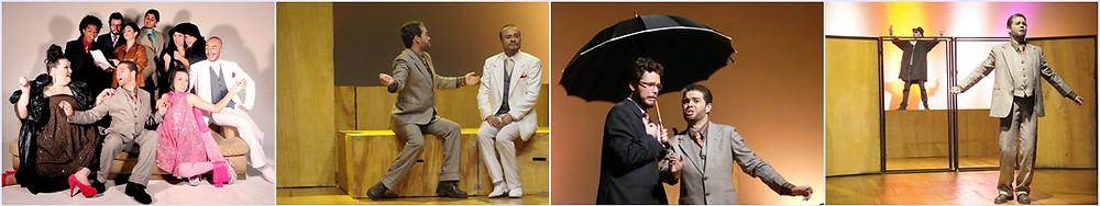 """Rômulo Mendes em """"O Inspetor Geral"""" - Fotos de Thiago Sabino"""