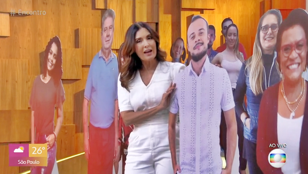 """""""PORTAL CONTEÚDO"""" MARCA PRESENÇA NO PROGRAMA ENCONTRO"""