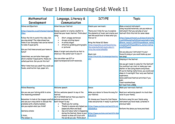 Year 1 Home Learning Week 11.png
