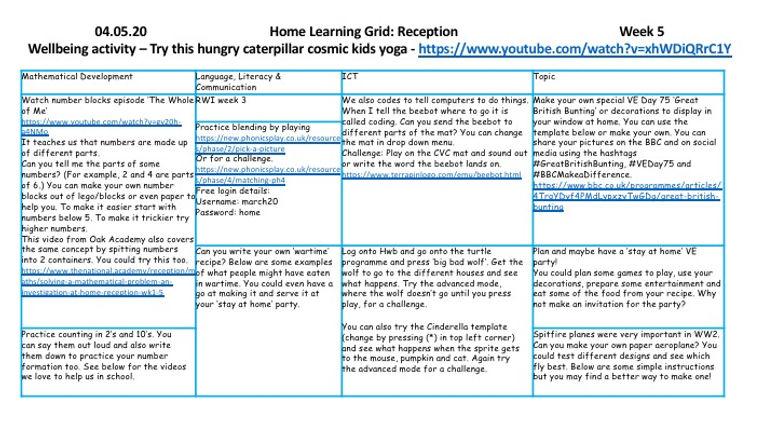 Reception presentation week 5 04.05.20.j