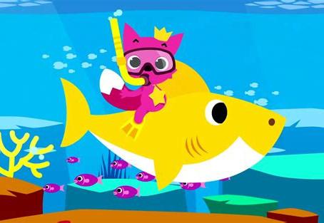 "To the tune of ""Baby Shark""... or ""Manamana"""
