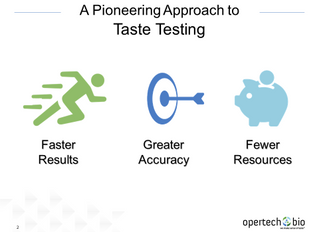 Opertech Bio Receives Fourth U.S. Patent Covering Pioneering Approach to Taste Testing and Measureme