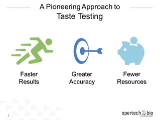 Opertech Bio Receives Fourth U.S. Patent Covering Pioneering Approach to Taste Testing & Measurement