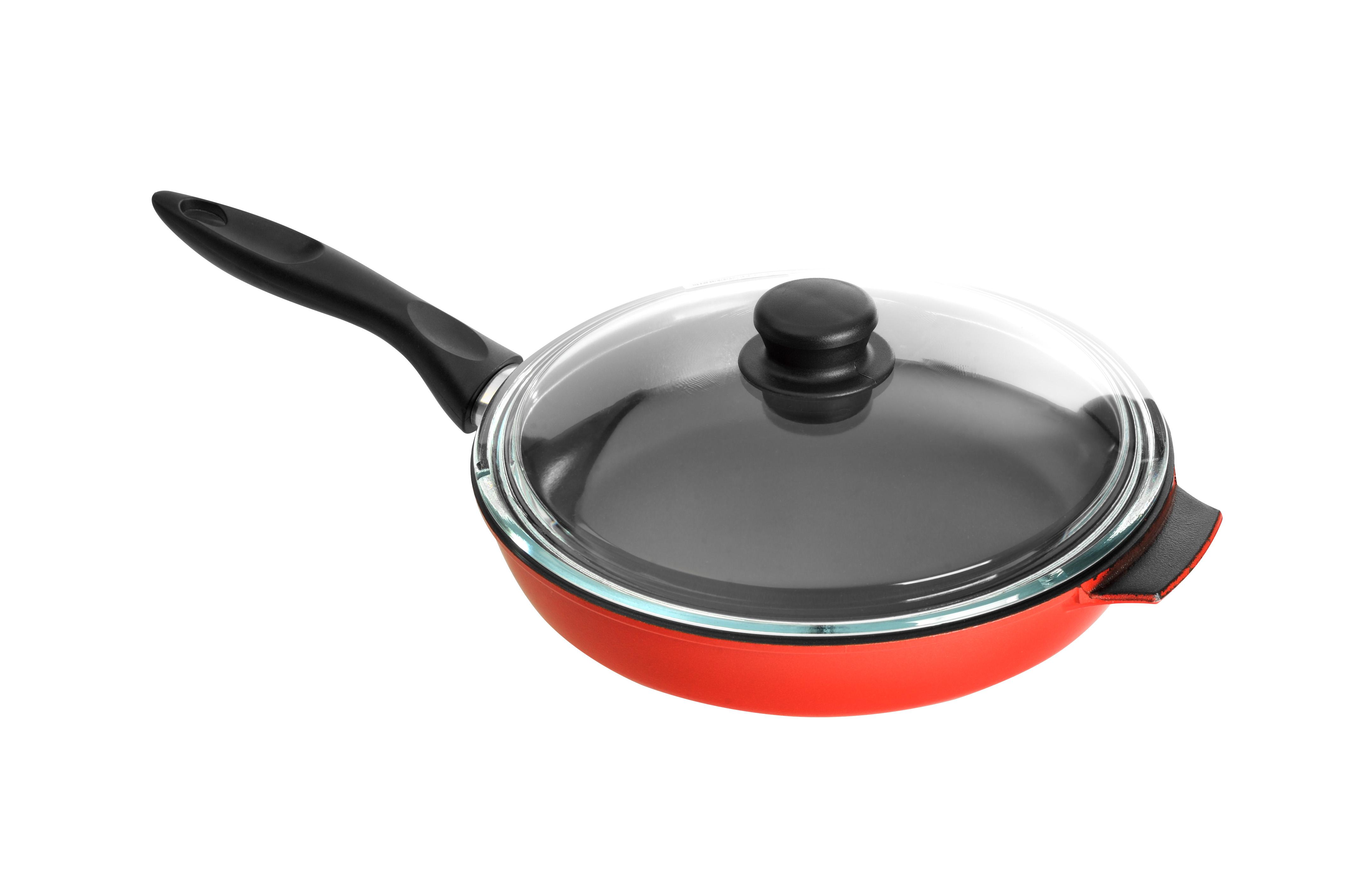 Сковорода серии Декор с крышкой
