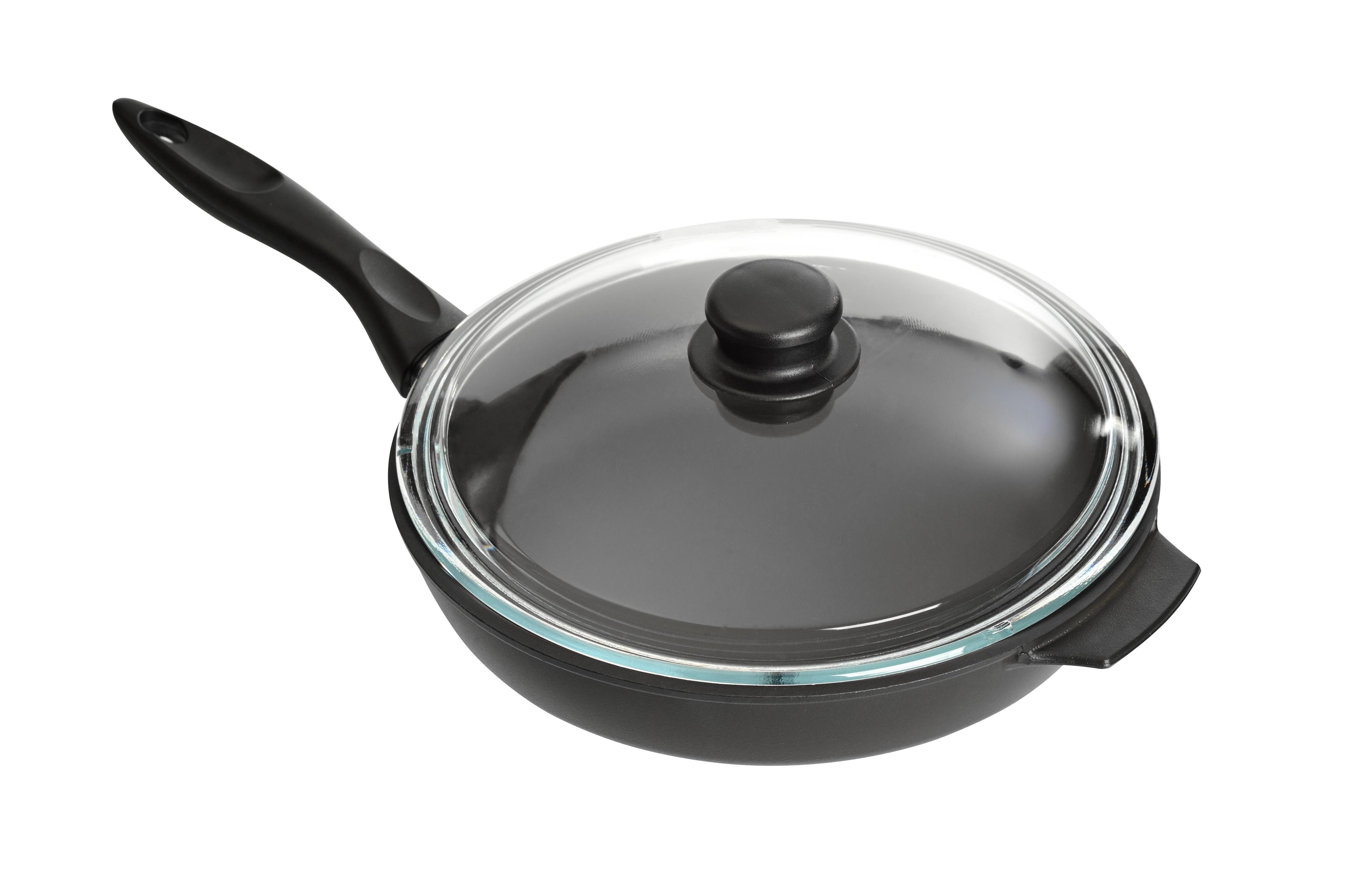 Сковорода Классик с крышкой