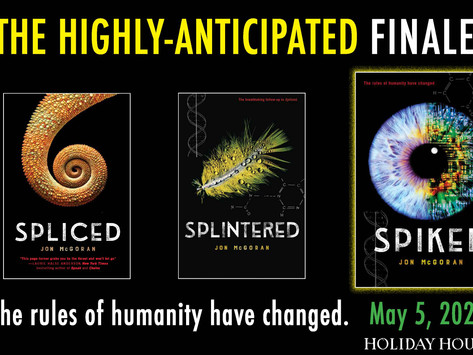 Cover Reveal for Spiked!