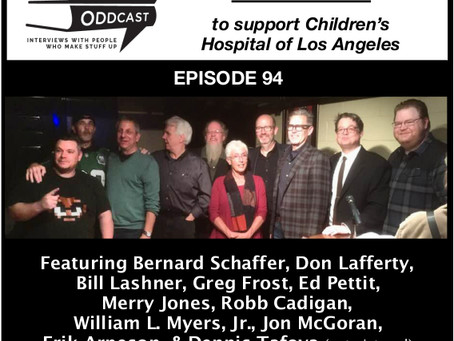Liars Club 'Noir at the Bar' Oddcast Features Crime Authors Reading their Works for CHLA Fundraiser