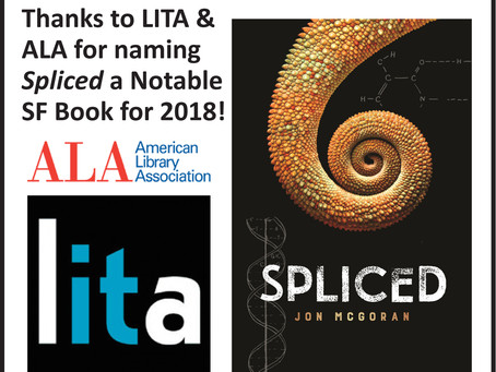 Spliced honored by ALA/LITA & ABA!