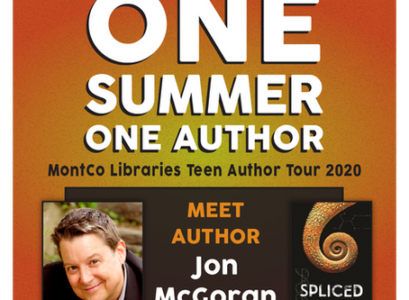Spliced Selected for One Summer, One Book Teen Author Tour!