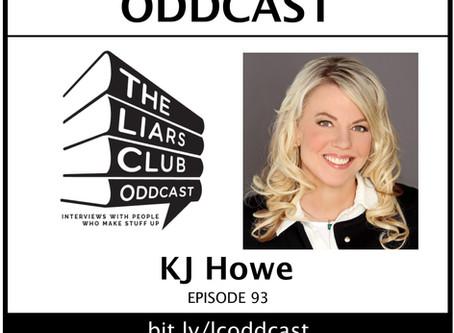 Thriller-Writer KJ Howe on the Oddcast