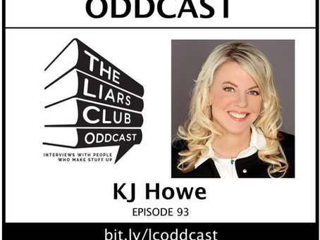 Thriller-Writer KJ Howe on the Oddcast