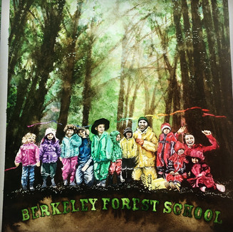 Berkeley Forest School Rainbow